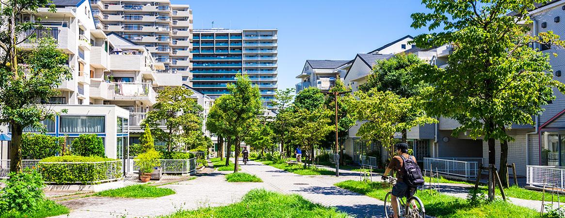 画像:地域と歩むエルム建設の街づくり事業